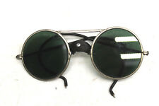 V. Rare Vintage Willson WW3 Aviator Steam Punk Goggles Safety Sunglasses Green