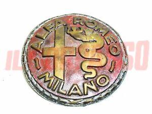 Coat of Arms Alfa Romeo Milano Years 30 - 40 6C 8C 1750 1900 2300 2500 Original