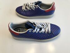 Adidas Pharrell Williams Stan Smith Small Polka Dot Blue Mens Sz 8