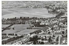 BALLARAT Lake Wendouree & surrounds Aerial c1950 modern digital Photo Postcard