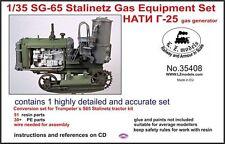 1/35th LZ Models Soviet GS-65 Stalinetz gas generator conversion set