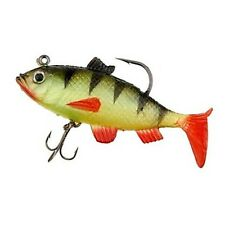 Silicone Soft Fishing Lure Crank Bait - One item w/Random Color and Design
