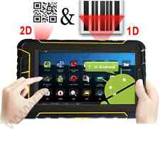 Rugged android 5.1 tablet 2D barcode scanner waterproof outdoor IP67 4G NFC wifi