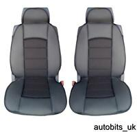 PREMIUM BLACK CUSHION PADDED Seat Covers Cushion PEUGEOT BOXER LUXURY MOTORHOME