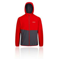 Regatta Mens Arec II Softshell Jacket Top Blue Red Sports Outdoors Hooded