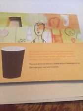 25x Starbucks Card Free Drink Lot (Vouchers Coffee Beverage Tea Frappe Cup)