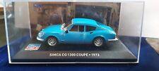 IXO 1/43 SIMCA CG 1300 COUPE 1973 NEUF EN BOITE