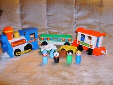 Vintage Fisher Price Little People Express Train #2581 Complete 1987