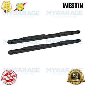 "Westin For 04-18 Colorado/05-09 Equinox Oval Steps 4""Black Powder Coated 22-5025"