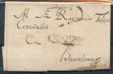 [6166] Spain very nice pre philatelic cover - see photo