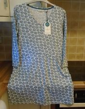 New Seasalt RRP £45 UK 10 Cloud Spotting Organic Cotton Tunic Top Floral