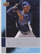 2008 Upper Deck Star Attractions #SA1 B.J. Upton