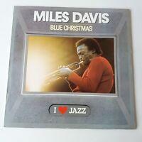 Miles Davis - Blue Christmas - Vinyl LP 1st Press 1983 Mono NM John Coltrane