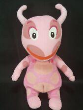 "TY Backyardigans Pink Uniqua Plush Beanie Nickelodeon 9"" Stuffed Animal Nick Jr"