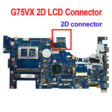 For Asus G75VX Laptop Motherboard 2D LCD Connector 60-NLEMB1101-C04 Mainboard