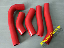 silicone intercooler turbo hose kit for Toyota Supra MK3 MA70 7M-GE/7M-GTE RED