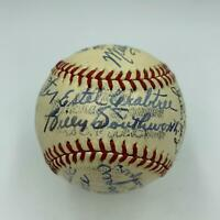 Beautiful 1941 St. Louis Cardinals Team Signed Baseball PSA DNA COA
