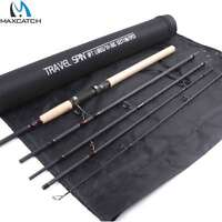 Travel Spinning Rod 9FT 5Pcs Lure Weight 10-30g Fishing Pole For Inshore Fishing