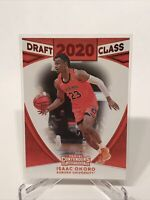 2020 Panini Contenders Draft Picks Basketball Isaac Okoro Draft Class Red Foil