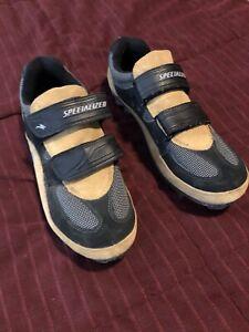 Men's Specialized Comp mountain bike shoes Tan & Black 11.5M