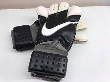 Nike Gk Vapor Grip 3 gardien de but Gants Noir Blanc Volt Taille 10 GS0275 098