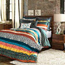 Nice Boho Eclectic 7-Piece King Size Comforter Bedspread Set