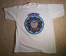 Vintage 1980s Carowinds Roller High Souvenir T-Shirt Amusement Park Cal Cru