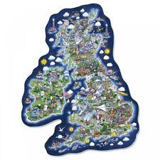 Gibson Britain & Ireland Jig-Map Jigsaw Puzzle