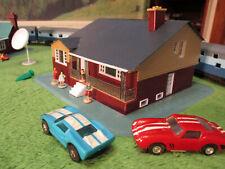 NMINT VINTAGE Life Like Morrell House Slot Car Train Track Set Building