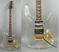 Vintage Samick Clear Plexi KR-660 AC Electric Guitar Limited