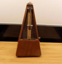 Antique Vintage Teak Metronome