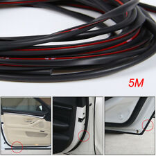 5M Black Car Side Door Edge Defender Protector Trim Guard Protection Strip