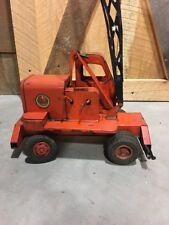 Vintage 1950's Toys Doepke MFG Co. UNIT CRANE Truck Model Toys / RARE ORIGINAL