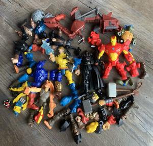 Hasbro Mashers Mixed Lot: Star Wars Marvel TMNT Darth Vader Iron Man Wolverine +
