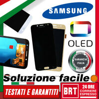 DISPLAY LCD+TOUCH SCREEN OLED ORIGINALE! SAMSUNG GALAXY J7 2017 SM-J730F VETRO!!
