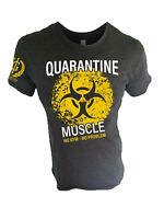 Iron Gods Quarantine Muscle T-Shirt Workout Apparel Weightlifting Bodybuilding