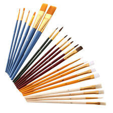 Brush Used Painting Oil Painting Set 25Pcs Watercolor Brushes All Occasion BI