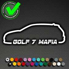 A197# Aufkleber Golf 7 Mafia Auto Decal DUB OEM Tuning Sticker VW MK7 Volkswagen