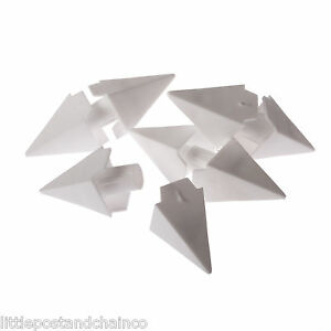 8mm Plastic Chain Decorative Spike Diamond (Pack Of 10) - Fit 8mm Chain Only