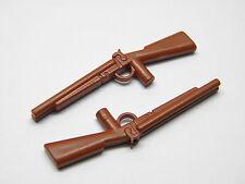 Playmobil Western Soldat Nordiste Sudiste Cowboy-Fusils Carabines Marrons AC1236