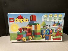 Lego Duplo 10558 Learn to Count Number Train NEW Preschool Building Set