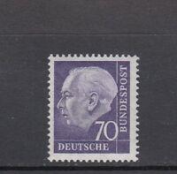 BRD Mi-Nr. 263 xw R - Rollenmarke mit Nummer 0440 ** postfrisch
