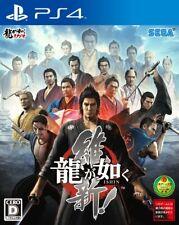 Ryu Ga Gotoku ISHIN! YAKUZA PS4 Sega Sony PlayStation 4 From Japan