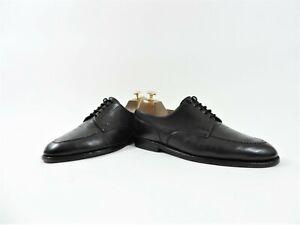 Crockett & Jones Mens Shoes Lace Up Onslow UK 7.5 E US 8.5 EU 41.5 Black Calf