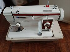 Vintage New Home Janome Sewing Machine Heavy Duty Instructions Case Accessories
