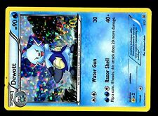 PROMO POKEMON MAC DO 2012 MCDONALD'S W&B CARD HOLO N°  5/12 DEWOTT