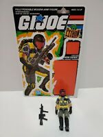 A5 GI Joe ARAH Cobra Python Patrol Viper 100% Complete Vtg Figure 1989 w/ Card