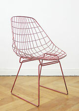 Pastoe Cees Braakman sm05 Chaise design Wire chair Bertoia String Stool Chaise I