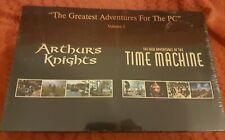 Arthur Caballeros 1 orígenes Excalibur y aventuras máquina del tiempo-Caja Grande Sellado