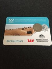 2016 Afghanistan Anzac Coin - Anzac To Afghanistan 20 Cents